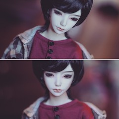 (shadow-stabbing) Tags: boy ball doll luv bjd abjd jointed dollmore zaoll