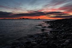 Sunfire (dam.photos) Tags: sunset sea sky sun seascape beach water colors beautiful sunshine clouds sunrise landscape island coast pentax k3 skyporn pentaxflickraward