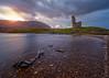 Ardvreck Castle (Carlos J. Teruel) Tags: sunset cloud landscape atardecer scotland nikon highland le cielo nubes 1835 filtros ardvreckcastle lochassynt nikon1835 xaviersam carlosjteruel d800e nikonafsnikkor1835mmf3545ged