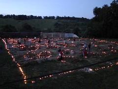 allumage des bougies autour des pieux des fondations 3