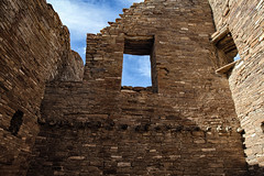 One Final Look from Within Pueblo Bonito (jpmckenna - Northern Plains Tour Coming Up) Tags: newmexico southwest ruins nps chaco chacoculturenationalhistoricalpark pueblobonito getoutside