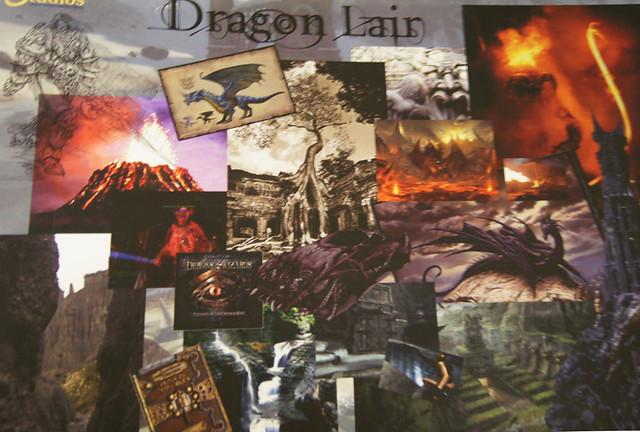 Dragons Lair Concept Art