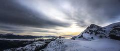 Gorbeia (Jabi Artaraz) Tags: winter nature nieve iñigo natura amanecer nubes invierno zb frío gorbeia negua euskoflickr montañero aldamin mendizale jabiartaraz jartaraz igiriñao