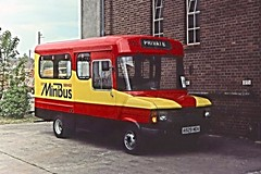 A929MDV (21c101) Tags: ford 9 devon exeter transit 1984 torquay minibus fordtransit dormobile cityservice breadvan devongeneral newtonroad a929mdv