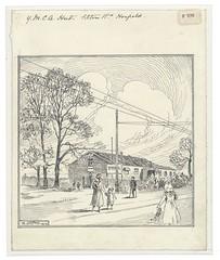 Loxton F 576 (Bristol Libraries) Tags: road uk bristol ymca filton horfield