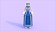 Toriel a (pb0012) Tags: game monster video lego character goat indie videogame ldd goatmom indiegame toriel undertale