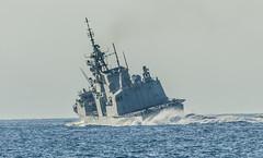 Hard Over (John Ducker) Tags: coast ship deep fast victoria destroyer frigate juandefuca esquimalt hmcs dde rcn