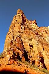 Sunset Rock (AlessandroDM) Tags: usa utah zion