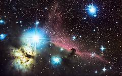 IC434 - The Horsehead Nebula (Antoine Grelin) Tags: las vegas usa canon stars prime iso800 focus long exposure space nevada 8 flame telescope galaxy nebula astrophotography orion m42 atlas astronomy ic434 horsehead t3i eqg b33 astrophotographie astrograph pixinsight
