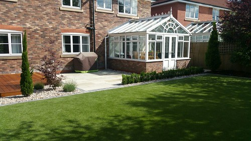 Landscape Gardening Wilmslow -  Decking Paving and Artificial Lawn Image 2