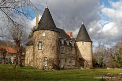 03 Gannat - La Faulconnière (Herve_R 03) Tags: france castle architecture allier château auvergne