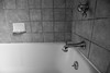 The Tub (jimsheaffer) Tags: blackandwhite bathroom tub bathroomfixtures realestatephotography nikonwideangle nikkor1835mmlens nikond750 nikkor1835mmf3545gedlens