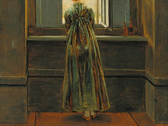 Friedrich, Woman at a Window (detail)
