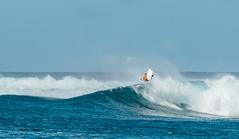 2.12.16 Honolua Bay (airinnajera) Tags: ocean sports hawaii bay flying nikon surf action aaron wave maui local bodyboard launching najera honolua d4s