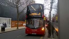 National Express West Midlands Daimler Wright Streetdeck 3301 (twmmcw111999) Tags: new city travel west bus birmingham centre row national express wright daimler midlands twm colmore 3301 streetdeck nxwm