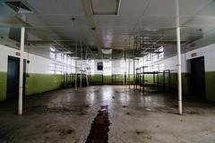 Bunkroom (forgottenbeautyphotography) Tags: history abandoned connecticut urbandecay ct prison urbanexploration jail correctionalfacility institutionalization