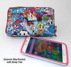 Happi Medium with slip pocket and tab 1 (The Happi Hippo) Tags: wallet jujube tokidoki thehappihippo
