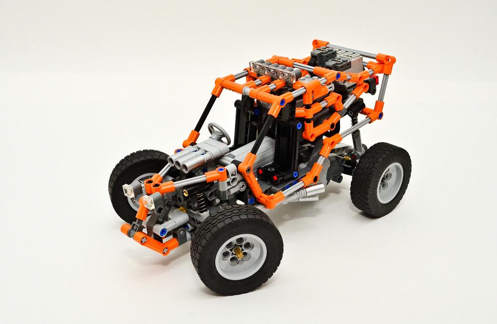 lego technic rc buggy instructions
