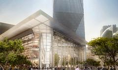 Проект Всемирного финансового центра в Дубае от Foster + Partners