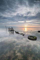 The Tire (joao.diasfilipe) Tags: seascape portugal canon landscape filter lee nd 5d waterscape