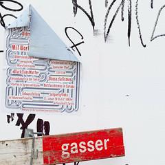 Dated socialism (zeh.hah.es.) Tags: red white black rot fence schweiz switzerland construction zurich zrich zaun weiss schwarz kreis5 bauzaun