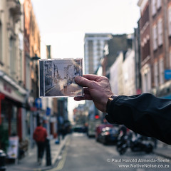 Where the Oasis album cover was shot on Berwick Street, London