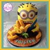 Bananas (cupkakesp2015) Tags: cakes cake banana bananas fondant minions minion cakedecorating cakepops minioncake