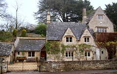 Grand Cotswold Stone House (SallehS) Tags: uk england village cotswolds bibury lateautumn