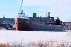 Kaye E. Barker (rt mamba) Tags: boats greatlakes lakesuperior greatlakesshipping twinports kayeebarker