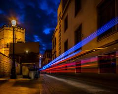 Seville - Spain -> Instagram : @rodlilo (rgm_fotografia) Tags: street city longexposure trip travel light cidade vacation lightpainting streets night sevilla spain nikon espanha europa europe seville noite rua lightroom longaexposio citylight sevilha lighttrail longexpo d3300