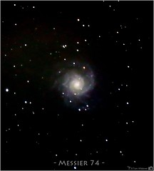 Galaxy Messier 74 (M74) (LeisurelyScientist.com) Tags: november black dark stars spiral timelapse space science galaxy adobe astrophotography astronomy messier cosmo pisces dss constellation deepspace cosmology meade lightroom astronomer m74 2015 lx90 deepsky spiralgalaxy canon6d tomwildoner leisurelyscientist leisurelyscientistcom