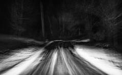 Almost Home (Kent Shaw Photography) Tags: usa blur rain night dark vermont rainy elmore