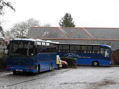 Tantivy 2 & 59 (Coco the Jerzee Busman) Tags: uk blue bus islands coach jersey channel tantivy