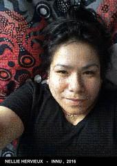 Le selfie de Tadadie Hervieux recomposé avec les images de Wapikoni mobile !