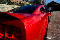 Mustang Dragon Fire Red full wrap (DUP_Automotive) Tags: wrapping wrapped wrap hampshire american shelby modified mustang southampton 3m americancars modifiedcars americanmuscle carwrap monsterwraps carwrapp dragonfirered