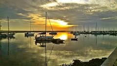 Olho (A. Pancinha) Tags: sunset wallpaper boat barco ria riaformosa olho parquenaturaldariaformosa pancinha