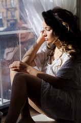 Stacey Giambastini (Melissa Segal) Tags: new york nyc portrait woman sexy love beautiful face brooklyn hair pretty skin body curves belle jolie guapa superbe