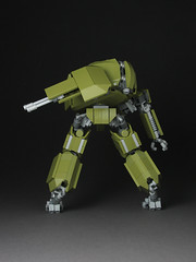 M251 Ridgway 2 (mondayn00dle) Tags: green robot tank lego military olive walker mecha bot mech