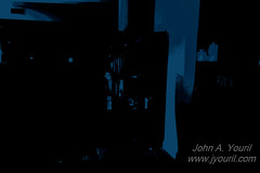 Untitled (John Youril (http://www.jyouril.com)) Tags: blue abstract monochromatic snapshots posterized abstractions