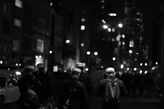 Chinese Sailors in NYC (Stefano-Bosso) Tags: china new york nyc people usa love monochrome america canon mono monocromo blackwhite noiretblanc manhattan candid chinese sailors nightlife avenue biancoenero streetshooting blackwhitephotos stefanobosso