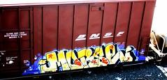morse (timetomakethepasta) Tags: train graffiti chub boxcar ts freight bnsf morse