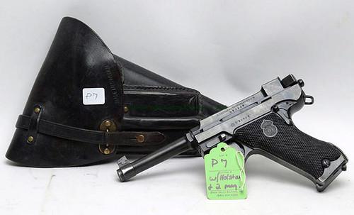 Husqvarna Lahti M40 Danish Police Model - 9mm Semi - Automatic Pistol w/ Original Holster & 2 Magazines - $550.00 (Sold June 5, 2015)
