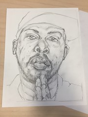 phife dawg drawing pencils2 (storm1sky) Tags: art pencil ink faces drawing