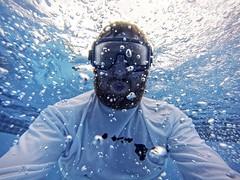 Underwater Selfie (pete4ducks) Tags: travel blue vacation water swimming hawaii underwater swimmingpool pete bigisland selfie 2015 gopro pete4ducks