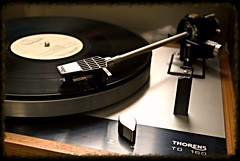 TD 160 (DjD-567) Tags: beltdrive td160 vinyl thorens chicago record lp spinning turntable vintage hifi gramophone phonograph recordplayer