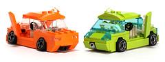 "Custom Car ""Emorange"" (Tamotsu_4WLC) Tags: car lego custom camber 4wlc"