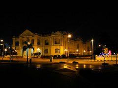 port-0993 (EnJANEer) Tags: park building heritage history night canon photography dawn lights architechture asia outdoor empty sigma ktm trainstation malaysia ipoh colony sans perak oldrailway