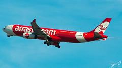 Airbus A330-343 AirAsiaX 9M-XXC (rouerjb) Tags: airplane airport nikon airbus a330 spotting cdg dcollage airasia lfpg