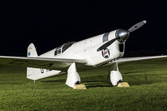 Percival E.2H Mew Gull - 4 (NickJ 1972) Tags: night shoot gull aviation nightshoot collection shuttleworth percival mew e2 2015 oldwarden gaexf