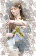 ophelia (steviequick) Tags: birthday play theatre stage character performance first shakespeare celebrations actor drama performer folio avon stratford upon rsc 2016 heroines charatcer shakepseare charactyer